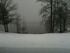 Lake Ouachita Snow :))