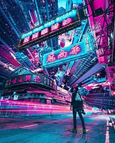 London på Instagram: De 15 vakreste stedene i Storbritannias Arte Cyberpunk, Cyberpunk Aesthetic, Cyberpunk City, Futuristic City, Purple Aesthetic, Aesthetic Art, Cyberpunk Anime, Aesthetic Light, Aesthetic Japan