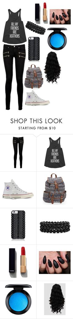 """""""❤️"""" by whysorude on Polyvore featuring mode, Paige Denim, Converse, Aéropostale, Savannah Hayes, Bling Jewelry, Chanel et MAC Cosmetics"""