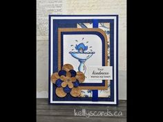 Every Day Card Kit 14-Card 1 - Any Occasion - Handmade Flowers - Card Making - Scrapbooking - YouTube