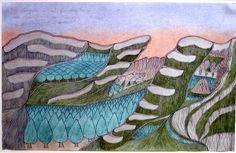「큐레이션의 시대」 프롤로그에 등장하는 조지프 요아컴(Joseph Yoakum)의 그림