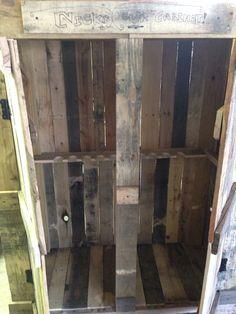 Pallet gun cabinet