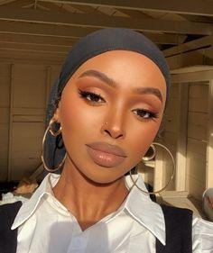 Glam Makeup Look, Makeup Eye Looks, Natural Makeup Looks, Cute Makeup, Natural School Makeup, Simple Makeup Looks, Black Girl Makeup Natural, Brown Makeup Looks, Casual Makeup