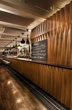 Dulcamara, Restaurant & Lounge Bar, Roma, Italy designed by COLLIDANIELARCHITETTO