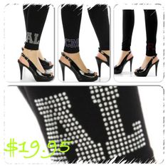 Personalized leggings  http://www.endlessxpressions.com/store/#charmers