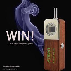 who wanna get free #atmanhachi Marijuana Vaporizer ? like our facebook https://www.facebook.com/atmanmarket  Get atman Giveaway
