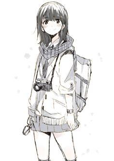 "acqua: "" 「カメラ女子まとめ」/「塩ラーメン(こってり)」の漫画 [pixiv] """