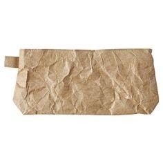 Polyethylene pen case brown, about 90 × 170 × 30mm   MUJI Net Store