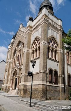 Synagogue in Nitra, Slovakia Throughout The World, Around The Worlds, Jewish Temple, Jewish History, Architecture Old, Beautiful Places In The World, Place Of Worship, Bratislava, Torah