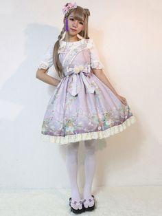 Classic Lolita Jsk Hyakki Yagy Lolita Jumper Skirt Japanese Style Lolita Jumper Skirt