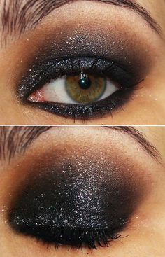 Smokey eye for a night out!