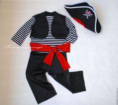 Костюм `Морской Пират` шьётся на заказ по индивидуальным меркам ребёнка.