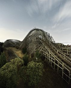 Nara Dreamland, a shut down theme park in Nara-ken, Japan