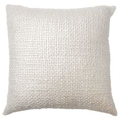 Woven Metallic Cushion