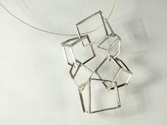 """Context Galeria - Oscar Abba - penjoll / colgante/ pendant """"boucles 040"""""""