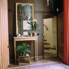 """20 years later, in my Paris front hall, dark brown is still doing it for me.""  --Tom Scheerer"