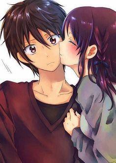 Suprise kiss