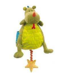 Liliputiens Walter Musical Cuddle : Night Light Baby Toy | Dada Baby Boutique