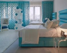 Blue bedroom design ideas sweetydesign home design hotel x 873 px Bedroom Design For Teen Girls, Teenage Girl Bedrooms, Girls Bedroom, Tween Girls, Blue Bedrooms, Teen Rooms, Girl Rooms, Childrens Bedroom, Preteen Bedroom