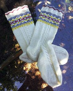 Ravelry: babzer's Dana's Wedding Socks