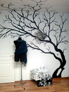 Wohnideen für erstaunliche Wanddekoration kunstvoll