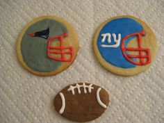 Superbowl XLVI Decorated Cookies