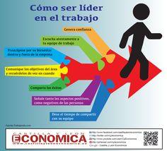 Cómo ser líder en el trabajo #infografia #infographic #leadership #rrhh