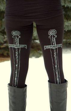 swords and leggings