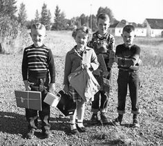 First day of school. 1949
