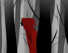 """Check out new work on my @Behance portfolio: """"Little Red Riding Hood"""" http://be.net/gallery/40709779/Little-Red-Riding-Hood"""