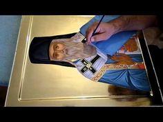 My work in progress Painting Videos, Byzantine, Temple, Youtube, Christ, Museum, Tutorials, Diy, Crafts