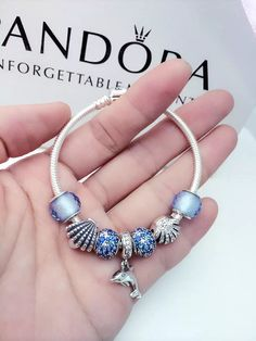 50% OFF!!! $199 Pandora Charm Bracelet. Hot Sale!!! SKU: CB01433 - PANDORA Bracelet Ideas