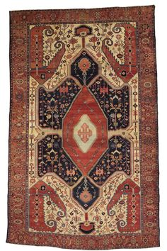 Persian Bakhshaish rug, 19th C (3rd Q)