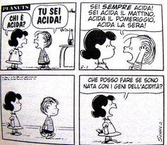Peanuts, Lucy e Linus