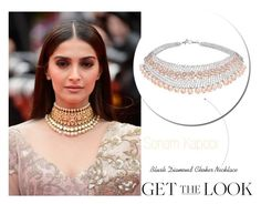 #GettheLook :  #SonamKapoor - #Pearl #ChokerNecklace by rajjewels on Polyvore