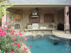 Beautiful -- love the transition from kitchen to pool