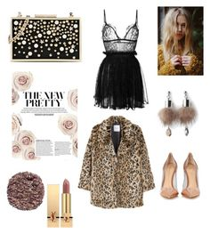 """Untitled #12"" by stylesmanda on Polyvore featuring Gianvito Rossi, Alexander McQueen, Karl Lagerfeld, Simons, MANGO, Illamasqua and Yves Saint Laurent"