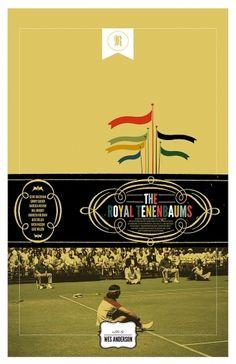 Royal Tenenbaums alternative posters