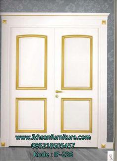 Jual Kusen Pintu  Kupu Tarung Jati Terbaru Mewah Model