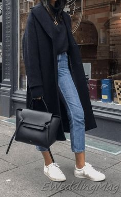 Outfit autumn 25 Best coat for women winter casual outfits 25 Best coat for women winter casual outfits Winter Outfits Women, Casual Winter Outfits, Trendy Outfits, Autumn Outfits, Spring Outfits, Fashion 2020, Look Fashion, Winter Fashion, Fashion Trends