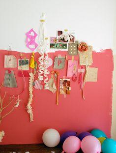 creative wall / inspiration / mood board