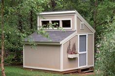 Maxine Garden Garden Shed Plan 002D-4515   House Plans and More