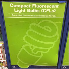 Fluorescent bulb waste is far more dangerous than incandescent bulbs, so here are Comprehensive CFL Recycling Instructions.