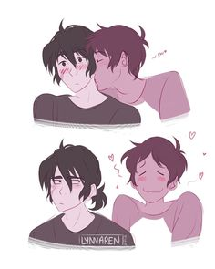 I was taking headcanon suggestions on ig and said that lance can't resist kissing keith's neck every time he ties his hair up and I straight up yELLED at the idea-! keith can try. Voltron Klance, Voltron Comics, Voltron Fanart, Voltron Ships, Voltron Memes, Form Voltron, Klance Cute, Pretty And Cute, Klance Fanart