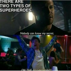 IM THE FLASHHHHHHH!! ⚡️ #theflash #flashmemes #barryallentheflash
