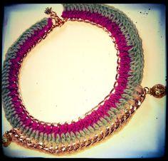 handmade necklace... <3
