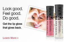 I love that this beauty product counts!  Did you know that the Mary Kay foundation gives 150 $20,000 grants to women's shelters every year in the US.  WOW!!!