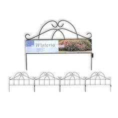 Garden Zone 100518320 Wisteria Classic Border Decorative Fence 19 x 24 ** To view further for this item, visit the image link. Garden Edging, Lawn And Garden, Plant Supports, Tear, Gardening Supplies, Garden Structures, Wisteria, Fence, Classic