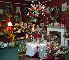 One of Our Showrooms in Evansville IN, Cottage Florist & Gifts