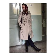 Head Scarf Tying, Aquascutum, Silk Scarves, Burberry, Headscarves, Trench Coats, Sally, Convertible, How To Wear